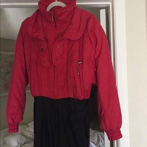 Like new vintage descente ski suit